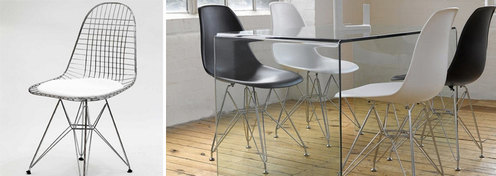 Sillas de metal dise o moderno para comedor salon cocina - Sillas para dormitorio moderno ...