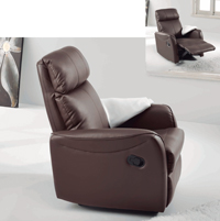 Sillones manuales reclinable - Sillones relax reclinables manual