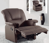 Sillones reclinables relax calor lumbar