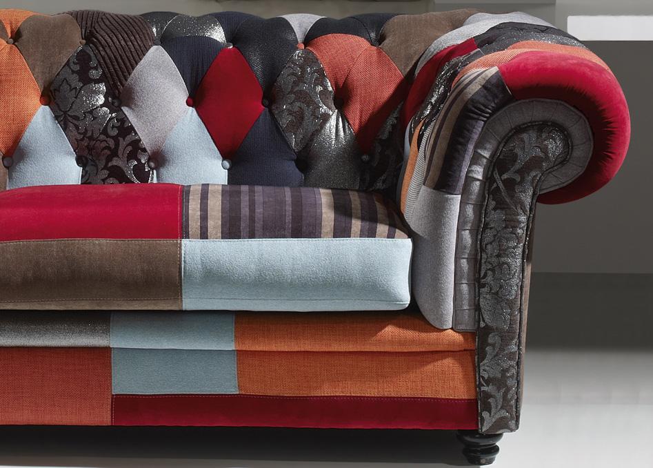 Sofa retazos tipo chester - Sofa tipo chester ...