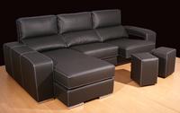 Sofá 2 ó 3 plazas con o sin chaiselong en polipiel