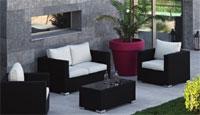 Set de sofás modernos modelo Santorini