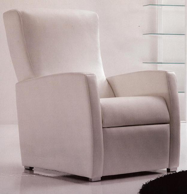 Sill n reclinable modelo soul sill n blanco soul for Sillon reclinable blanco