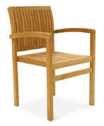 Silla Royal teak Sailor STACKING