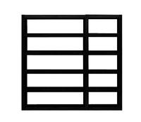 Estanteria Comp Denso 2010-003 -  Estantería para colocar contra una pared o flotando en el centro de una habitación