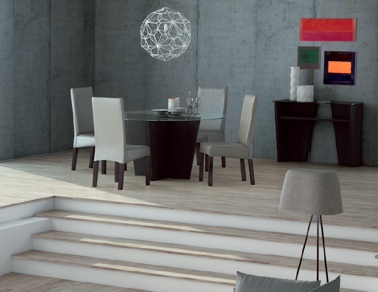 Mesa comedor tapa cristal redonda for Cristal redondo para mesa
