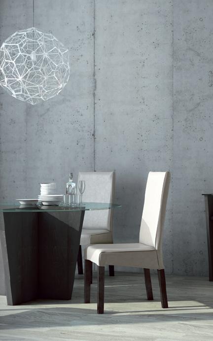 Mesa comedor tapa cristal redonda for Comedor redondo extensible
