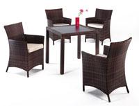 Set de sillas y mesa modelo DAFF/TRIPOLI