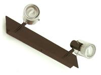 Lámpara de aplique modelo Tuba 2L BN