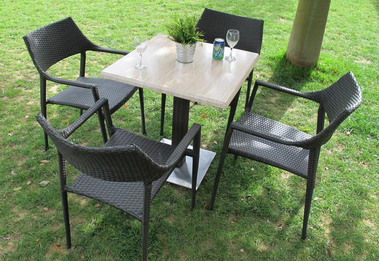 Juego de comedor para exteriores modelo arwen liguria for Comedores exteriores para terrazas