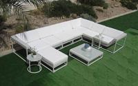 Conjunto de sof�s y mesa para exteriores modelo Oshini - Precioso y original conjunto de sof�s y mesa para exteriores Oshini