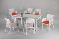 Set de sillas y mesa modelo VENECIA