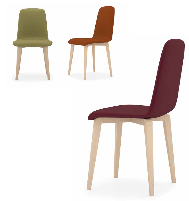 Mia home sillas de madera moderna beta - Sillas modernas madera ...