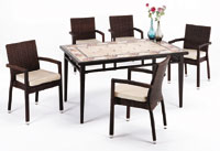 Set sillas y mesa mosaico modelo WILSON