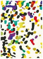 Alfombra acrílica Xian-Confetti I
