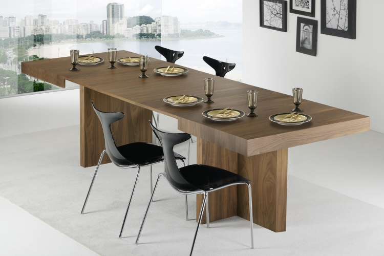 Mesa de comedor extensible madrid - Mesas comedor modernas extensibles ...