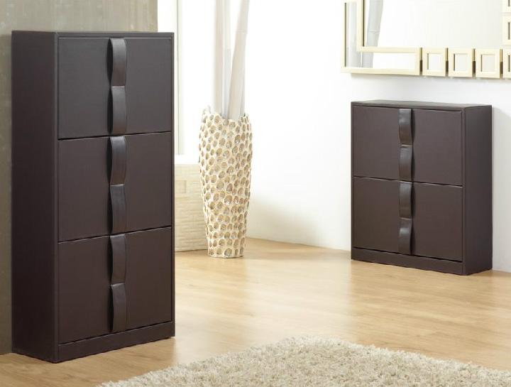 Zapatero imory de polipiel dormitorios muebles de for Ofertas de zapateros