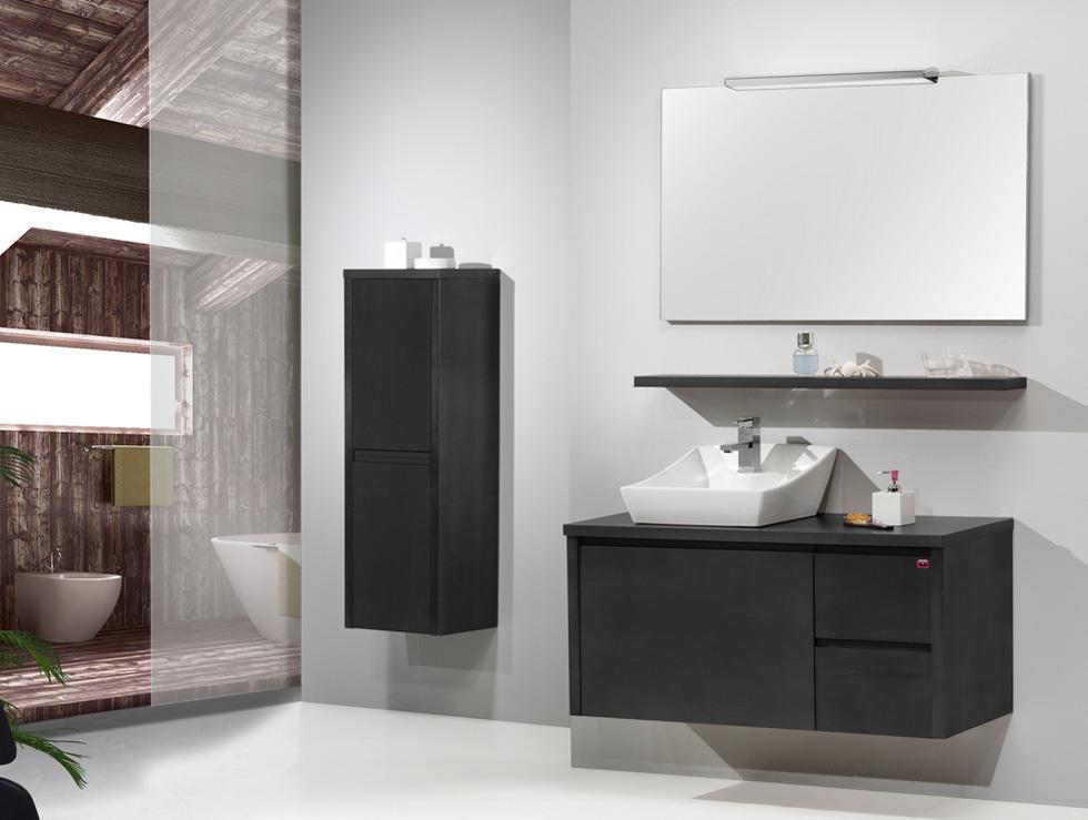 Azulejos ba os dos colores - Muebles toalleros para banos ...