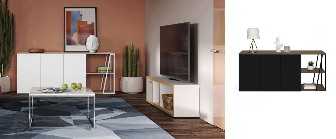 Aparador moderno y salones modernos muebles