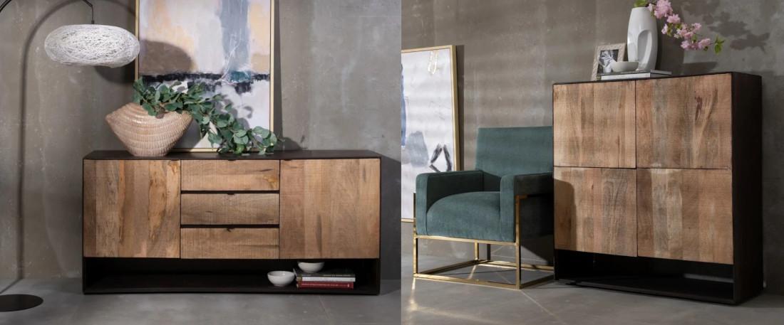 muebles rusticos de salón