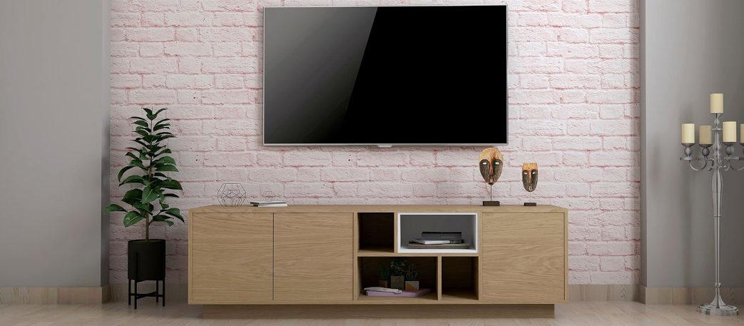 Muebles de TV de madera y modernos
