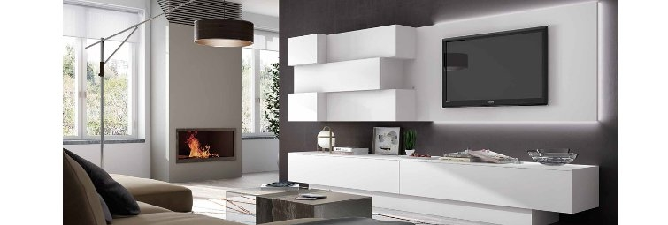 salon moderno modular en madrid