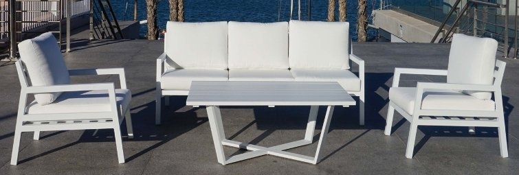 sofas de aluminio para exterior terraza jardin