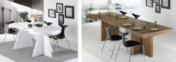 Nuevas mesas extensibles de madera