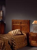 Cabecero de cama de mindi - Cabezal de madera de mindi.