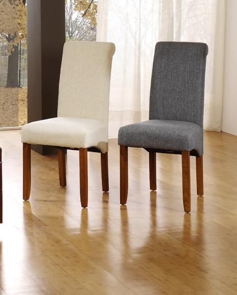 Sillas de comedor tapizadas en tela casa dise o for Sillas comedor tapizadas tela