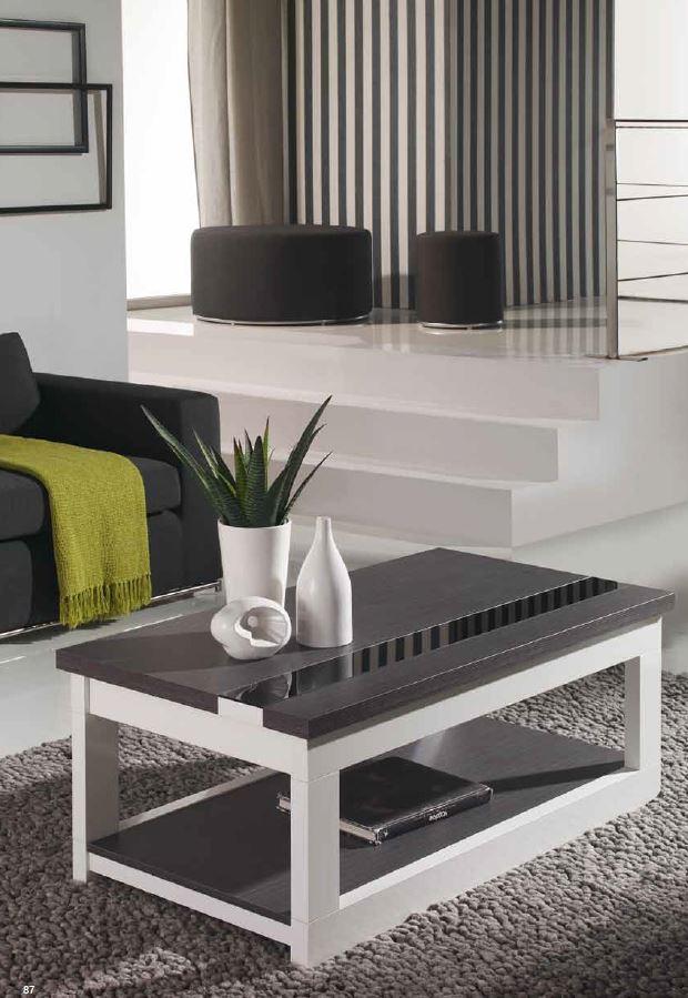 Mesa salon baja elevable oferta zaragoza santander - Mesa baja salon ...