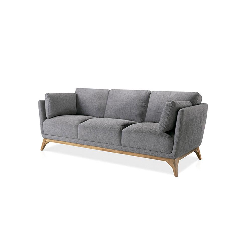 Sofa tapizado 2 o 3 puestos duo mia home - Tapizados sofas precios ...