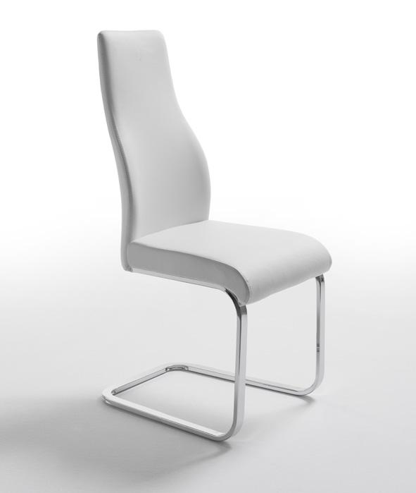 Hermoso sillas comedor blancas modernas galer a de - Sillas de comedor modernas ...