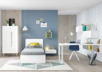 Dormitorio Origami Composición 55
