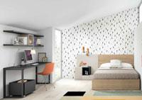 Dormitorio Origami Composición 56