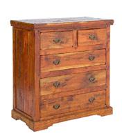 Comoda Chateaux en madera rustica - Comoda Chateaux en madera rustica