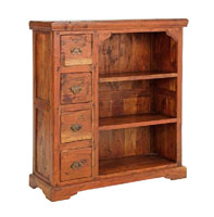 Estanteria Chateaux 4C en madera rustica - Estanteria Chateaux 4C en madera rustica