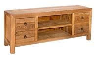 Mesa de TV Kendar en madera rustica - Mesa de TV Kendar en madera rustica