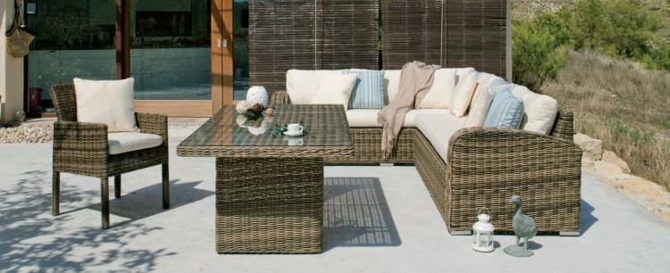conjunto de sofs de ratn para exterior conjunto de distintas piezas de sillones para