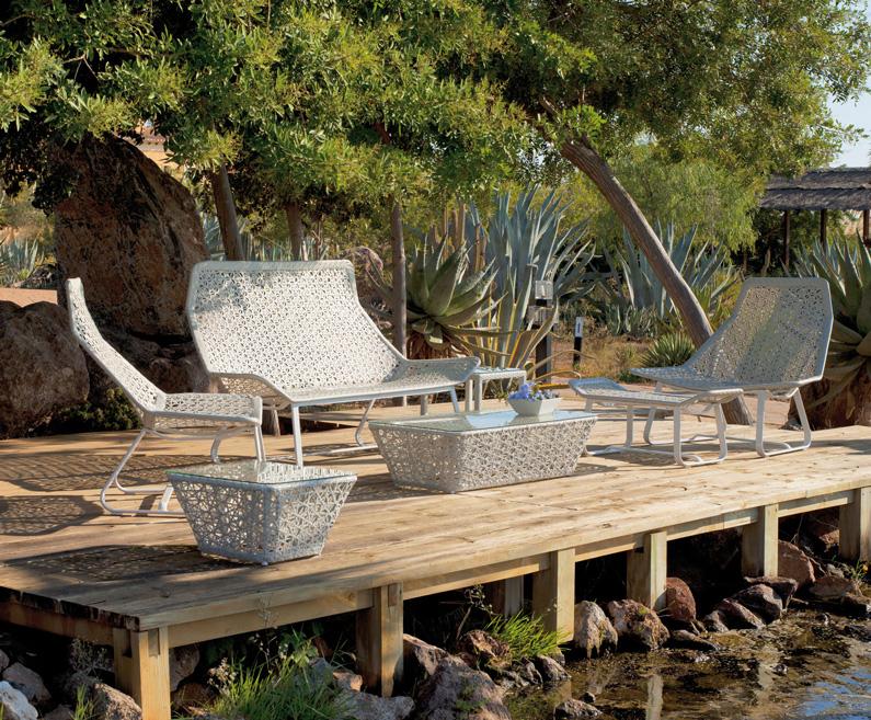 Set de muebles para exteriores BRISTOL - Set de muebles de intemperie modelo Bristol