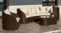 Juego de muebles para exteriores Camaro - Juego de sofás, sillones y mesa de centro para cualquier tipo de exteriores.