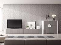 Salón moderno Gamma 1 - Composición de mueble moderno para salón.