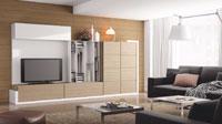 Mueble de Salón moderno Omega 2 - Composición de mueble moderno para salón.