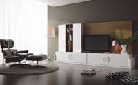 Mueble de Salón moderno Omega 3 - Composición de mueble moderno para salón.