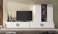 Mueble de Salón moderno Omega 4 - Composición de mueble moderno para salón.