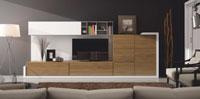 Mueble de Salón moderno Omega 5 - Composición de mueble moderno para salón.