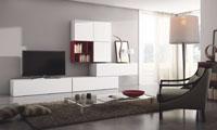 Mueble de Salón moderno Basic 6 - Composición de mueble moderno para salón.