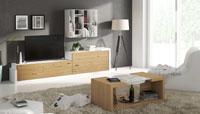 Mueble de Salón moderno Omega 9 - Composición de mueble moderno para salón.