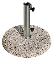 Bases redondas para parasoles de granito  - Bases redondas para parasoles de granito, diferentes tamaños
