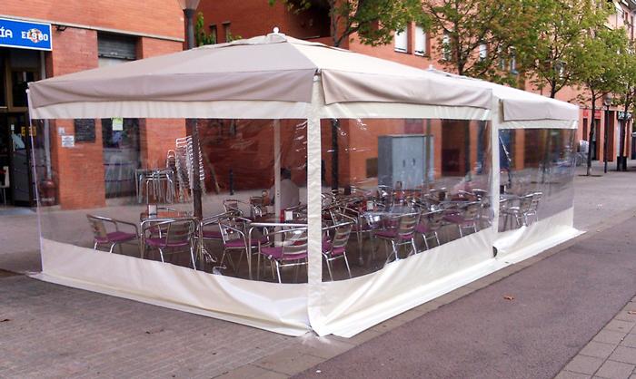 Cortina universal para parasoles  - Cortina universal para parasoles 3x3 mts y 4x4 mts